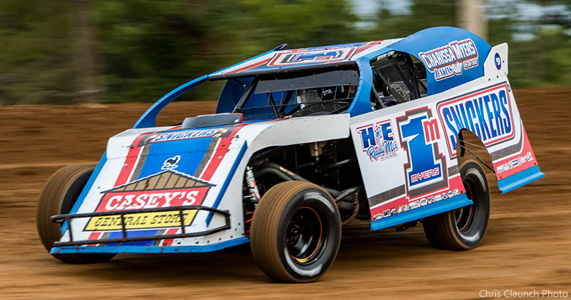 Curt Myers of Cameron, Wisconsin, was the Snickers USMTS Modified wheelman during the 2017 racing season.