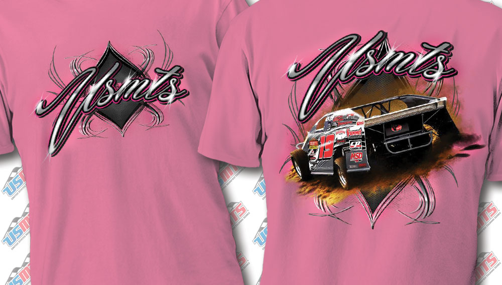 "USMTS ""Sweet 19"" Hot Pink Shirt"