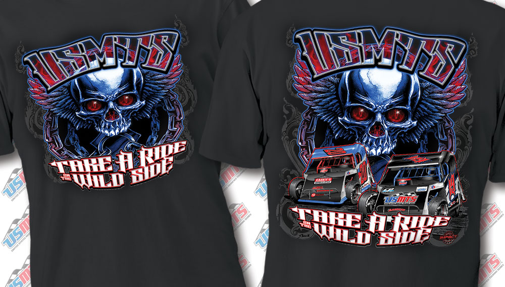 "USMTS ""Ride on the Wild Side"" Shirt"