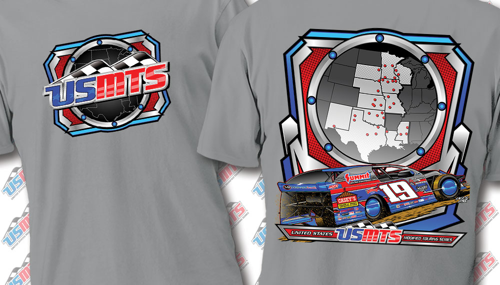 "USMTS ""Mayhem Map"" Shirt"