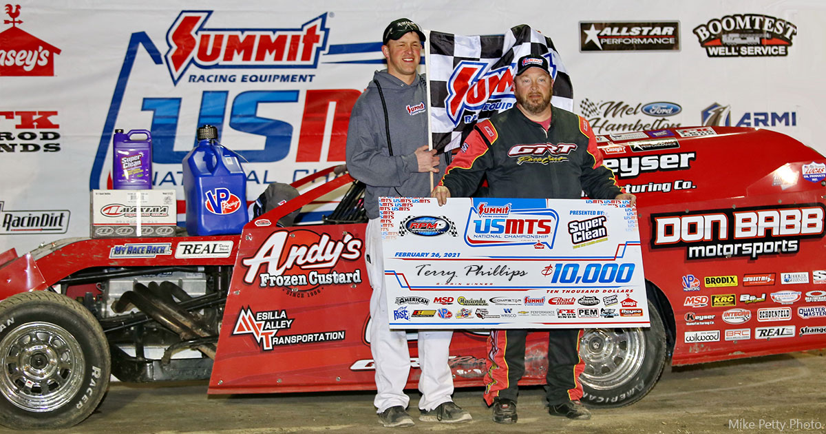 Phillips draws first blood in USMTS Texas Spring Nationals