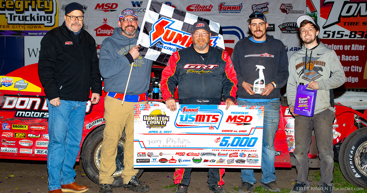 Phillips find USMTS winner's circle in Webster City