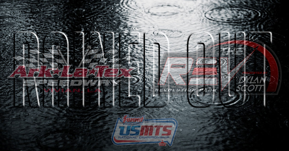 USMTS weekend wiped out in Louisiana, postponed to September